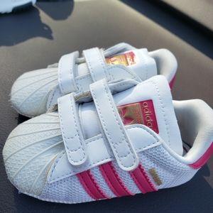 Baby Adidas Superstars Pink